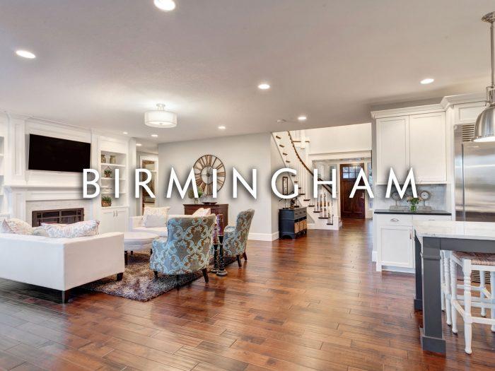 Birmingham Michigan Luxury Home Interior of living room
