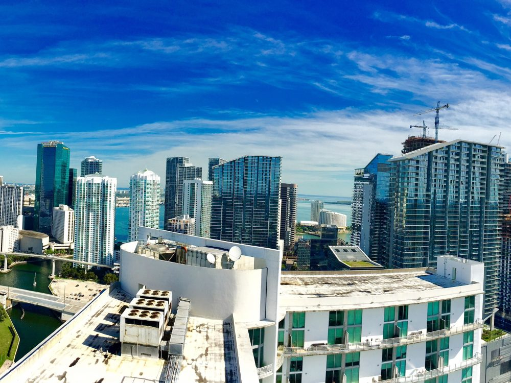 Brickell Miami Skyline with the Vaughn Real Estate Group
