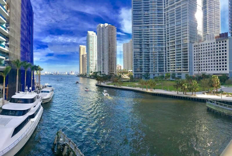 Miami Condo waterway