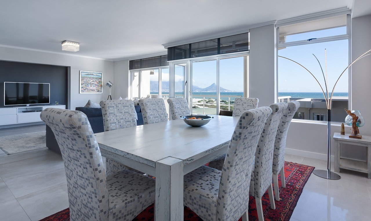 Dining Room Table in home interior