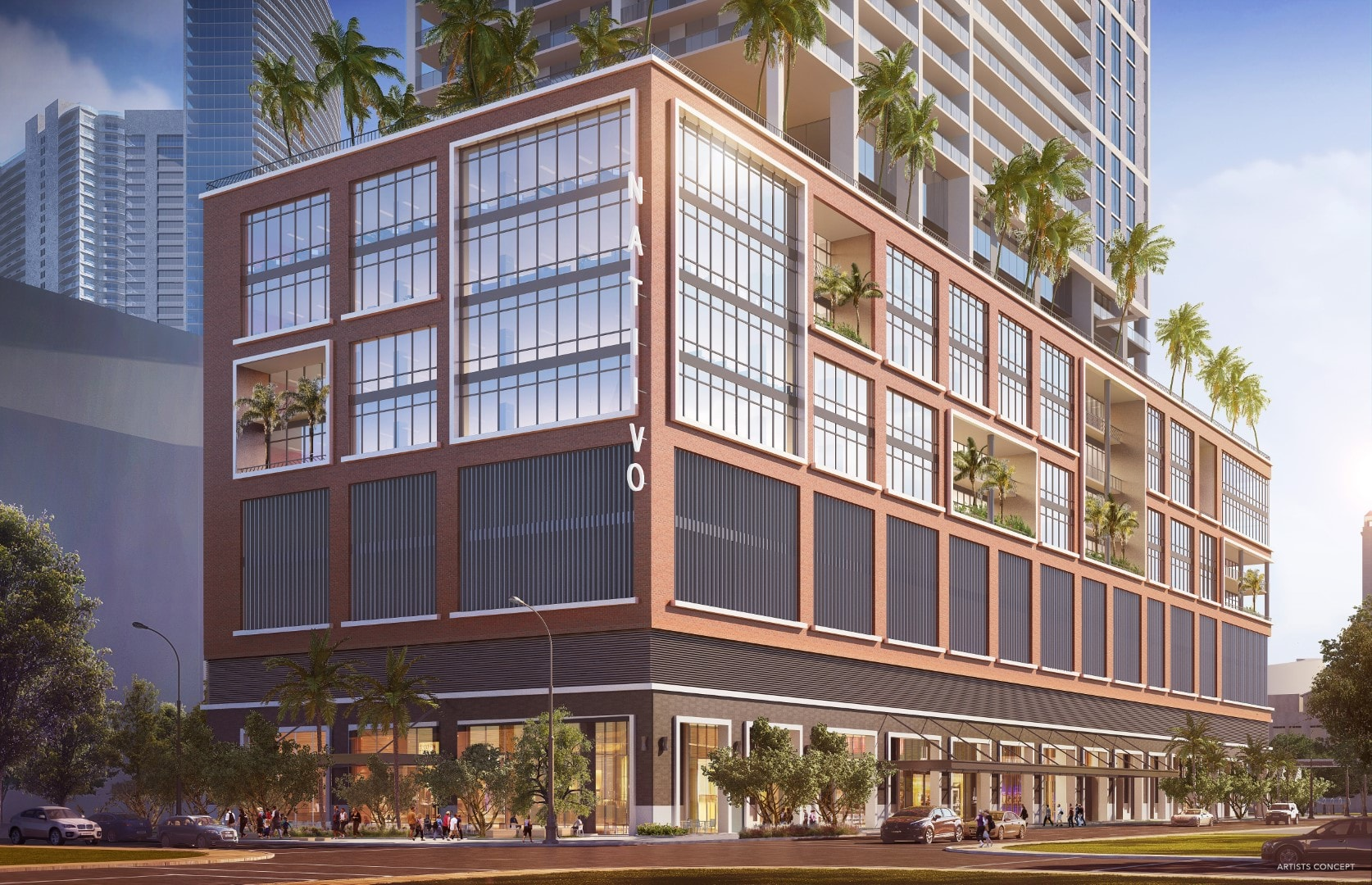 Natiivo Miami - Curbside Rendering