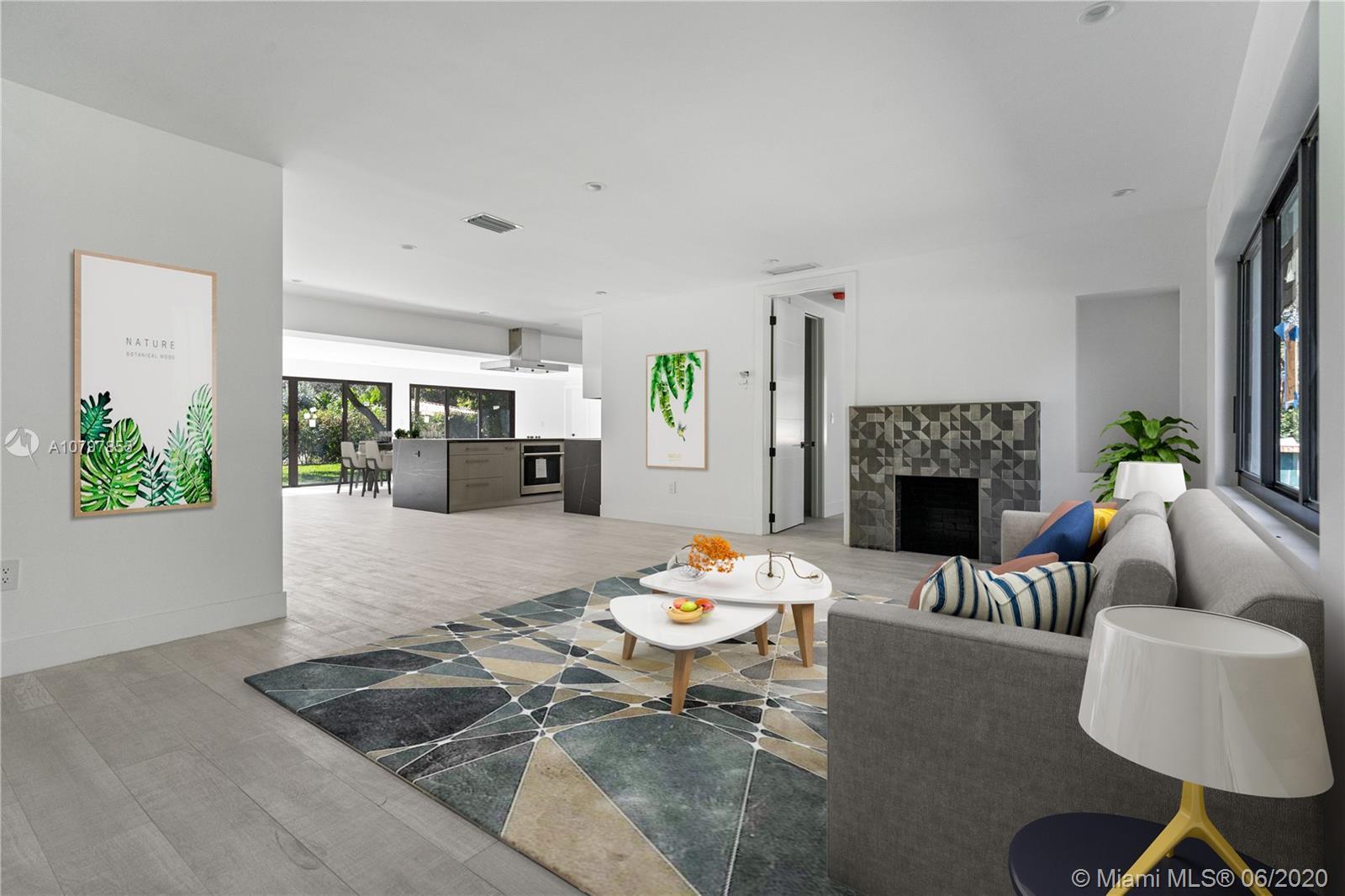 Home Interior of Living