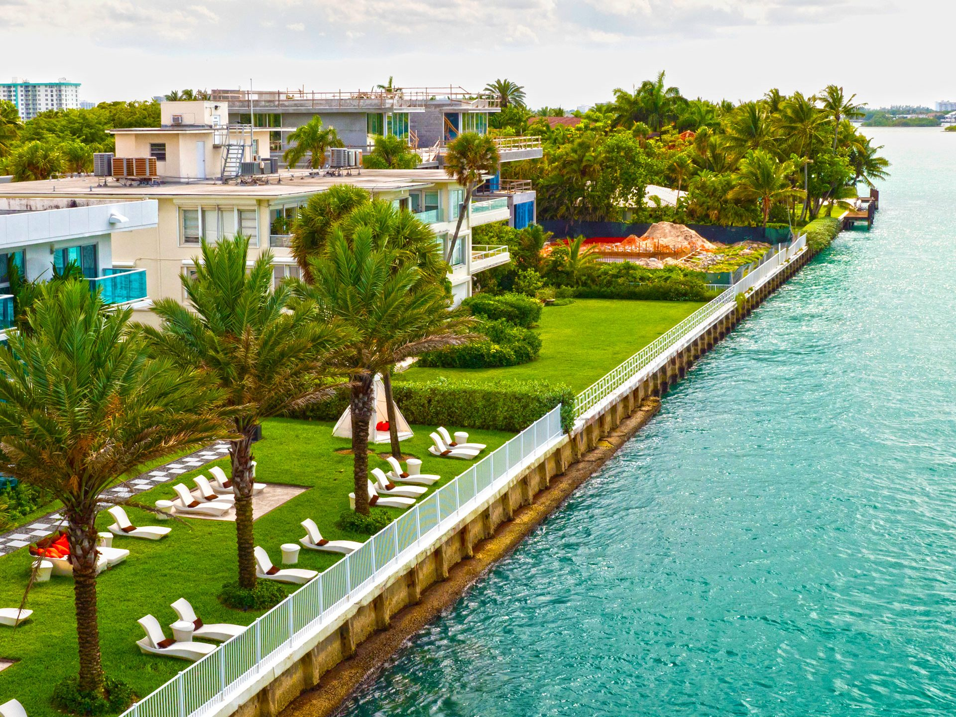 Ocean Way in Miami Beach for Private homes