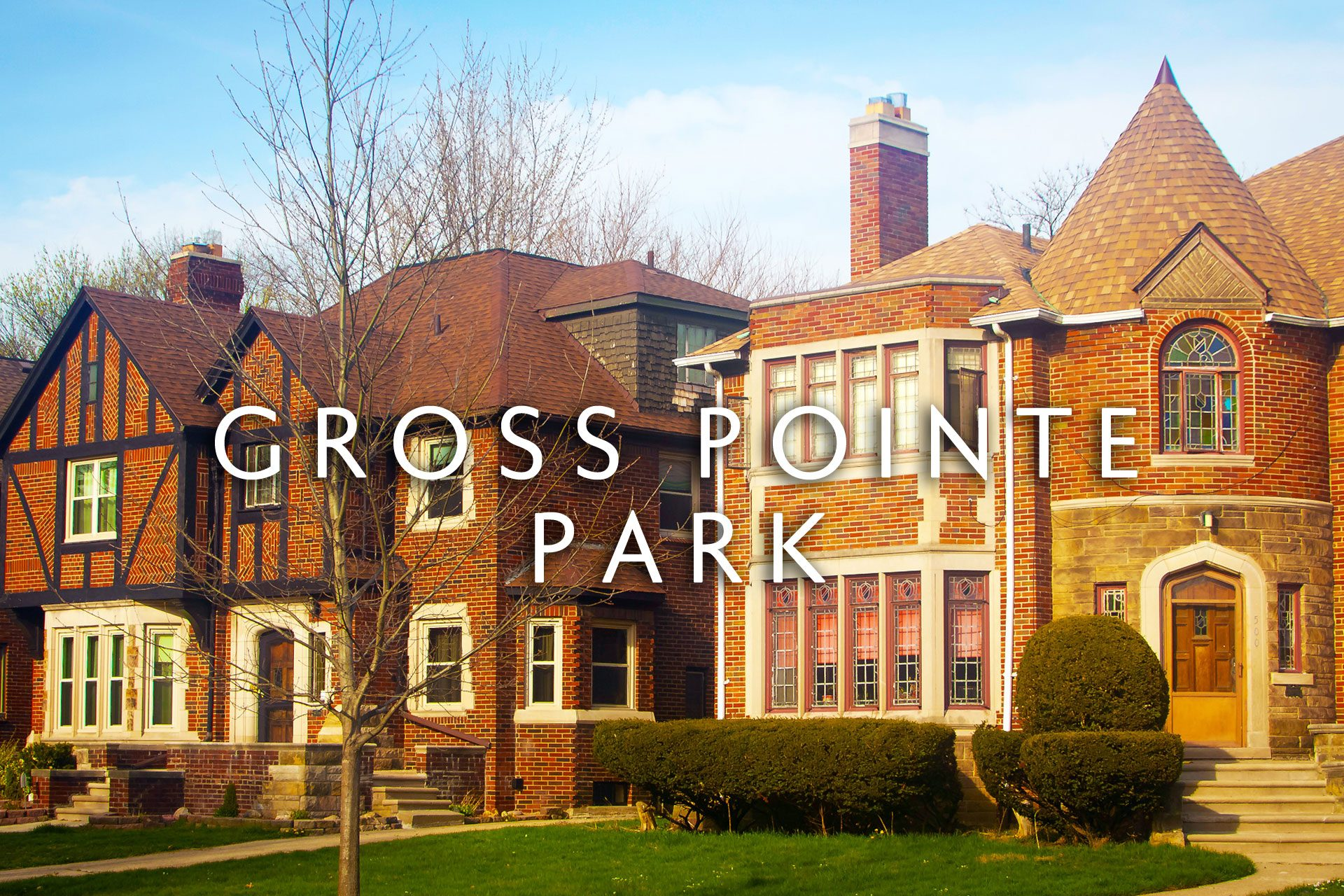 Gross Pointe Park brownstone home in Michigan