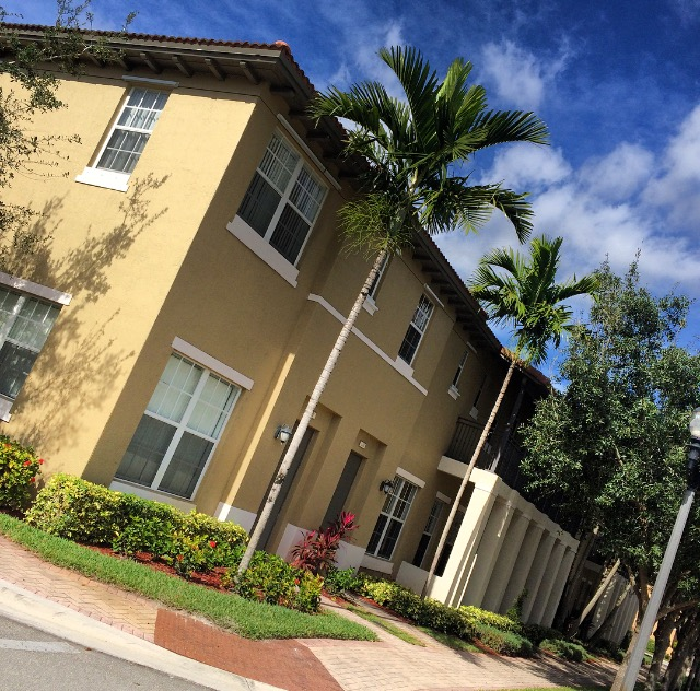 two story residential building in south florida